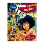 Carte colorat Jumbo color+stickere