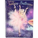 Carte de colorat Create your Fantasy Ballerina