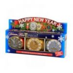 Happy New Year Clock 90gr