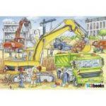 Puzzle Ravensburger - Muncind din greu