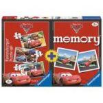 Ravensburger - Joc memorie si puzzle Disney Cars 2, 3 in 1