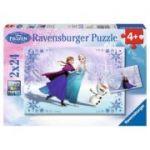 Puzzle-uri Ravensburger Frozen - Surori pentru Totdeauna