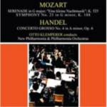 CD Mozart: Serenade in G Major, 'Eine Klaine Nachtmusik'  Handel: Concerto Grosso No. 4 in A minor