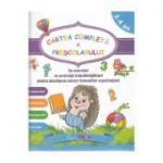 Cartea completa a prescolarului 3-4 ani