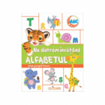 Ne distram invatand alfabetul. Clasa pregatitoare