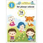 Set planse colorat - Clasa a I-a