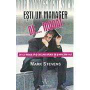 Esti un manager de... modat