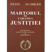 MARTORUL PE TARAMUL JUSTITIEI