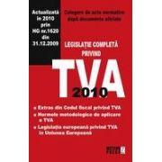 LEGISLATIE COMPLETA PRIVIND TVA 2010