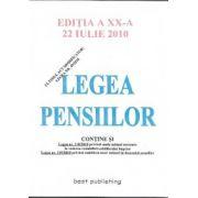 LEGEA PENSIILOR, EDITIA XX, 22 IULIE 2010