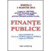 FINANTE PUBLICE 01 MARTIE 2011
