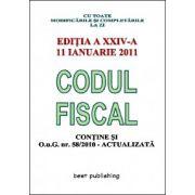 CODUL FISCAL 11 IANUARIE 2011. O.U.G. NR.58/2010 ACTUALIZATA