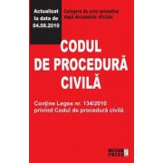 CODUL DE PROCEDURA CIVILA 4.08.2010