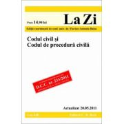 CODUL CIVIL SI CODUL DE PROCEDURA CIVILA
