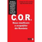 C.O.R. CLASIFICAREA OCUPATIILOR DIN ROMANIA 8.08.2011