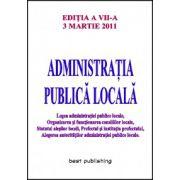 ADMINISTRATIA PUBLICA LOCALA 3 MARTIE 2011