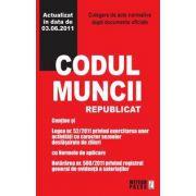 CODUL MUNCII. ACTUALIZAT IN DATA DE 20.04.2011