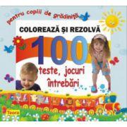 1200-100 DE TESTE PTR GRADINITA