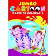 Jumbo cartoon. Carte de colorat-1