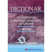 MIC DICTIONAR DE OMONIME, PARONIME, SINONIME, ANTONIME