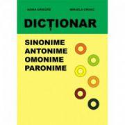 Dictionar. Sinonime, antonime, omonime, paronime