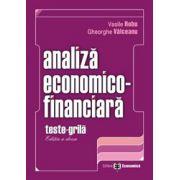 SET ANALIZA ECONOMICO-FINANCIARA.TESTE GRILA