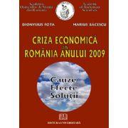 CRIZA ECONOMICA DIN ROMANIA ANULUI 2009
