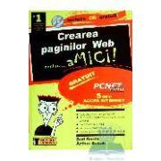 CREAREA PAGINILOR WEB + CD