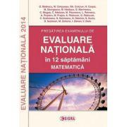 Pregatirea examenului de evaluare nationala in 12 saptamani. Matematica