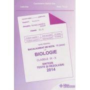 Ghid pentru bacalaureat de nota 10 la biologie clasele IX-X