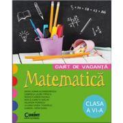 Caiet de vacanta. Matematica clasa a VI-a