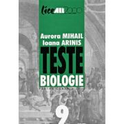 Teste biologie pentru clasa a IX-a