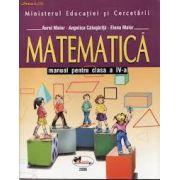 MATEMATICA. MANUAL, CLASA IV