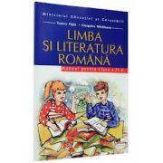 LIMBA SI LITERATURA ROMANA. MANUAL, CLASA II