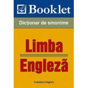 Limba engleza. Dictionar de sinonime