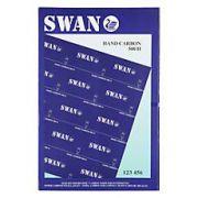 Hartie copiativa (indigo), A4, 100 file/top, albastru, SWAN