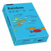 Hartie colorata, A4, 160 g/mp, 250 coli/top, albastru (blue), RAINBOW