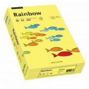 Hartie color, A4, 80 g/mp, 500 coli/top, galben (yellow), RAINBOW
