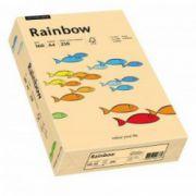 Hartie color, A4, 160 g/mp, 250 coli/top, roz-portocaliu (salmon), RAINBOW