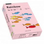 Hartie color, A4, 160 g/mp, 250 coli/top, roz deschis (light pink), RAINBOW