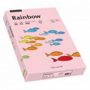 Hartie color, A3, 80 g/mp, 500 coli/top, roz deschis (light pink), RAINBOW