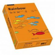 Carton color, A4, 160 g/mp, 250 coli/top, portocaliu intens (intensive orange), RAINBOW
