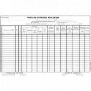 Nota de intrare receptie, fara TVA, A4, tipar fata, autocopiativ, 100 file/carnet
