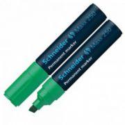Permanent marker Schneider 2-7mm 250 verde