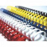 Inele din plastic, 10mm, alb, 100 buc/cutie, FELLOWES