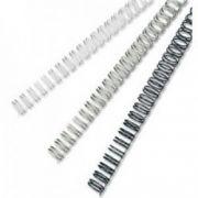 Inele din metal, 6mm, negru, 100 buc/cutie, FELLOWES