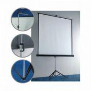 Ecran de proiectie, cu trepied, 1800 x 1800mm, BI-OFFICE