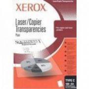 Film pt. retroproiector, A4, alb-negru, 100 buc/top, XEROX 3R98198