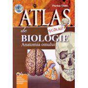 Atlas scolar de biologie. Anatomia omului