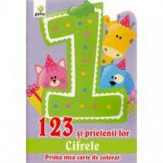 123 SI PRIETENII LOR. CIFRELE